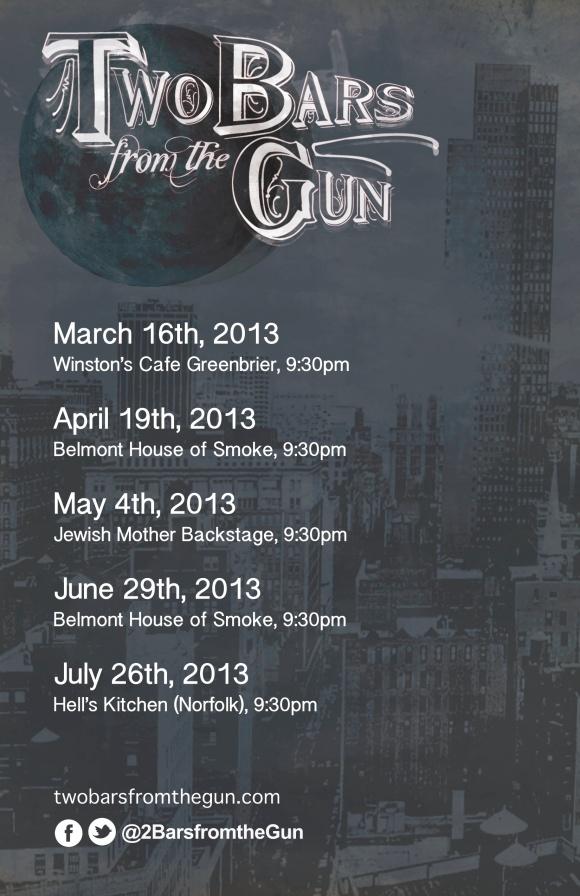 2013 Spring Show Flier